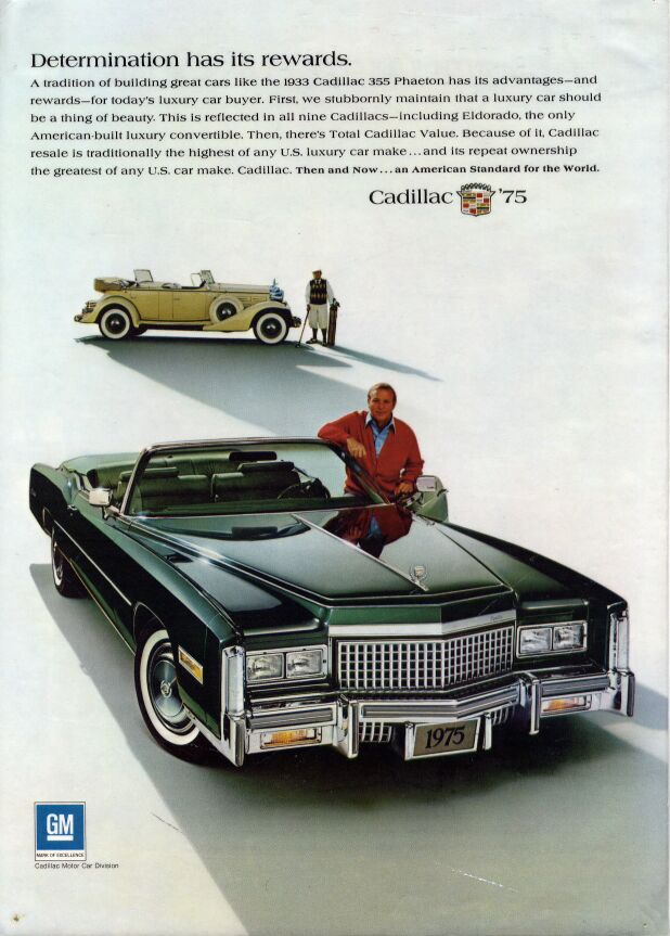 cadillac eldorado convertible survival guide the 1975 eldorado which was scanned by dermot thompson keeper of a lot of dealer paper materials on all kinds of cadillacs